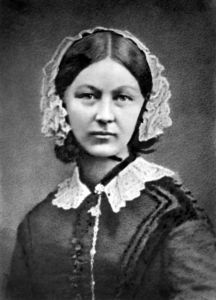 Florence Nightingale, circa 1860.