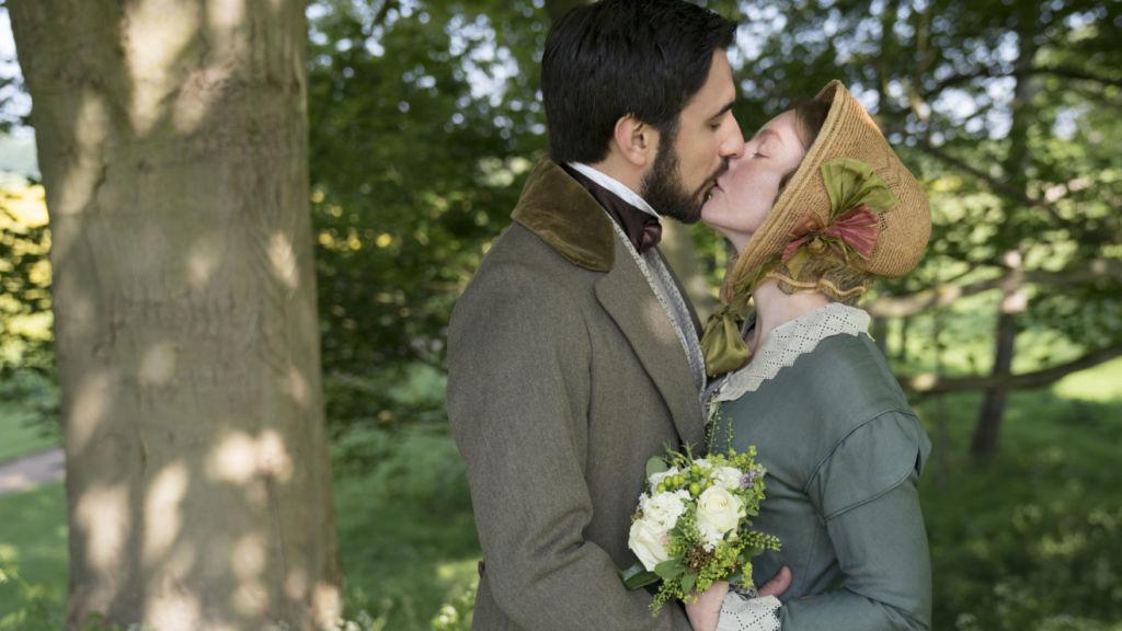 Victoria, Season 3, Episode 2. Charles Francatelli (Ferdinand Kingsley) and Skerrett (Nell Hudson).