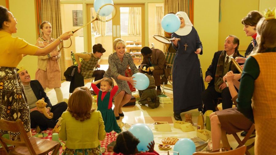 In Call the Midwife Season 8, Episode 1, the birth of the Queens baby boy is celebrated.