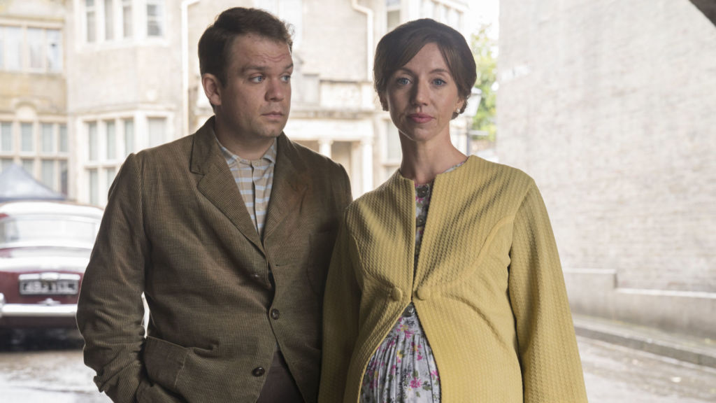 George Sharp (JACK DOOLAN), Pam Sharp (NANCY SULLIVAN) Call the Midwife