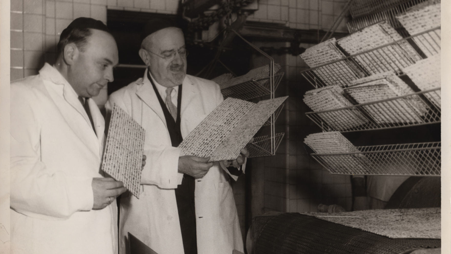 Archival photo from Streit's: Matzo and the American Dream. Credit: Menemsha Films