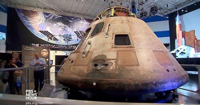Apollo 11 returns to Earth