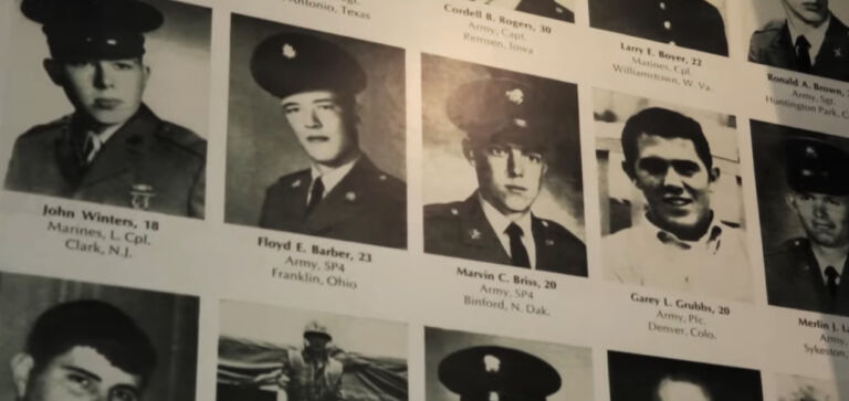 The Faces of the American Dead in Vietnam