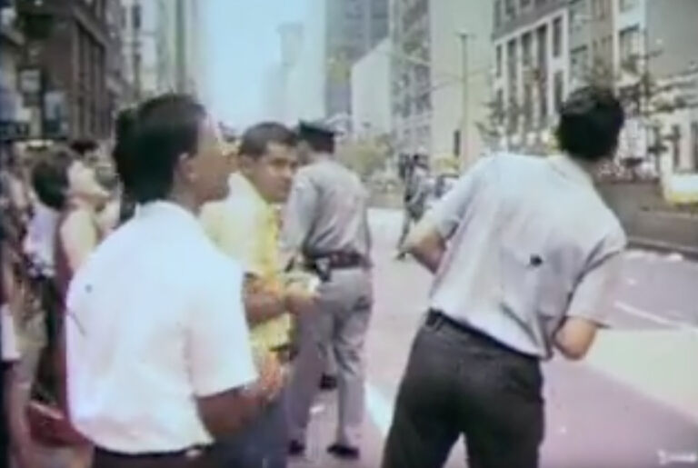 NYC tickertape parade for astronauts