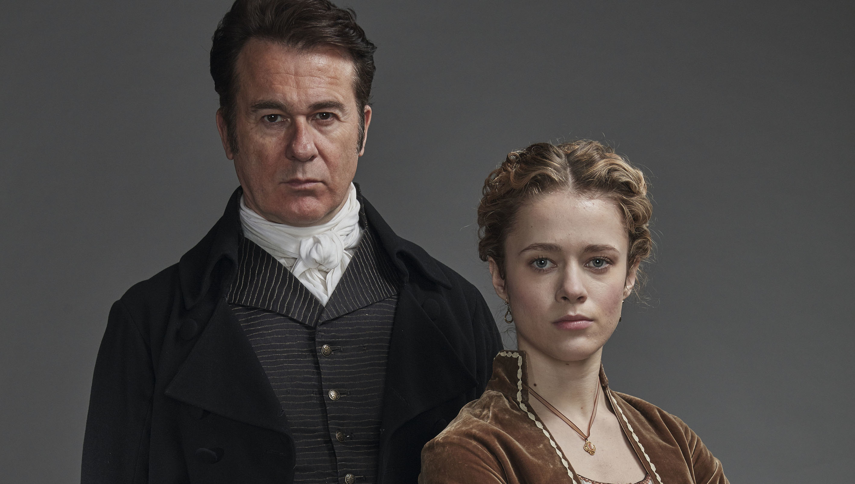 George Hanson and Cecily Hanson in Poldark Season 5.