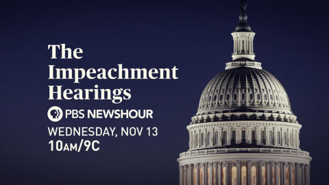 Impeachment Hearings on PBS