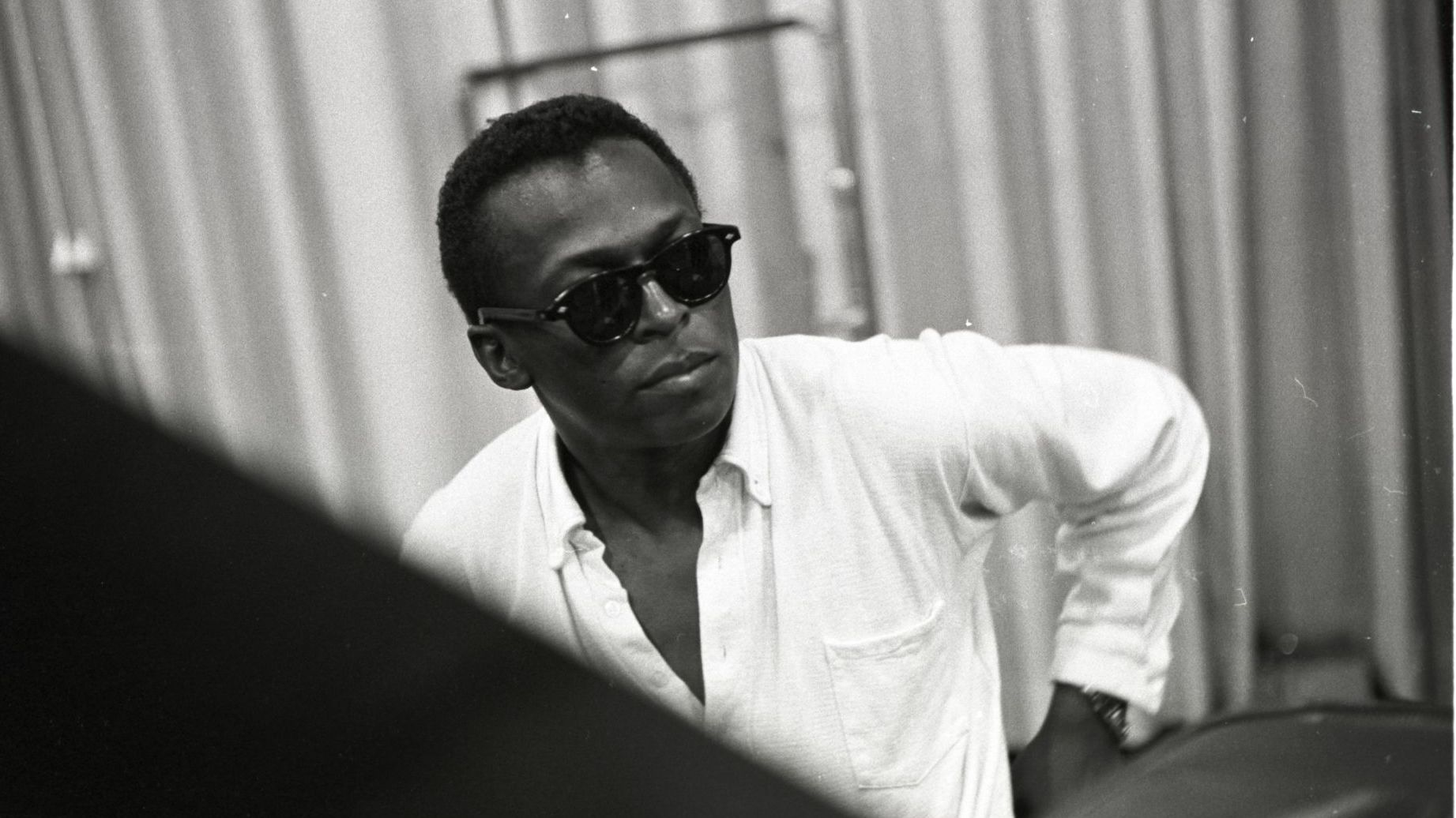 Miles Davis, Round Midnight Recording Session June 1956. Credit: Photographer Don Hunstein/Sony Music Archives.