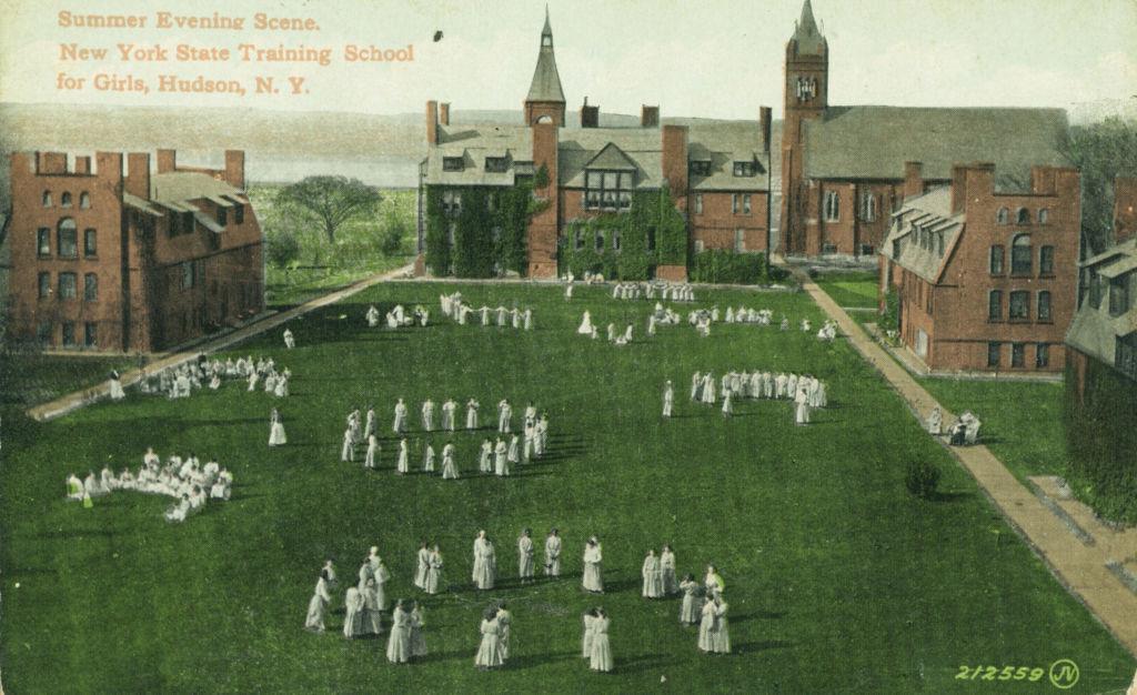 Archival image of New York Training School for Girls.