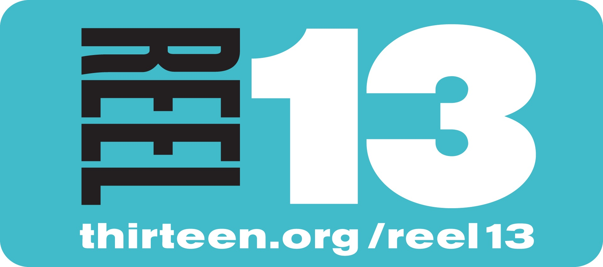 Logo for Reel 13 and its website thirteen.org/reel13