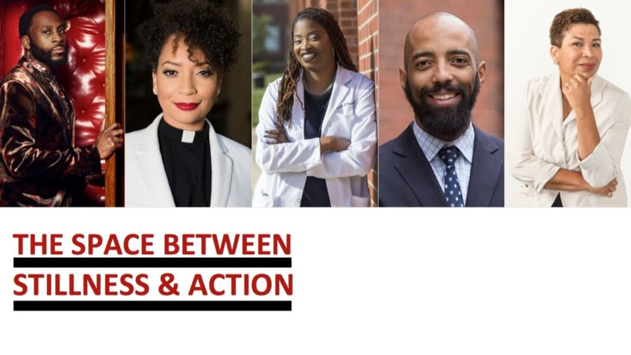 Five diverse panelists for the May 25 event