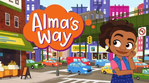 A Bronx Girl is Star of Animated Series